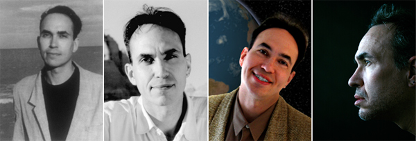 Author photos: 1998, 2002, 2008, 2011